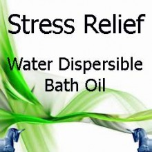 Stress Relief Bath Oil