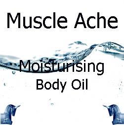 Muscle Ache Moisturising Body Oil