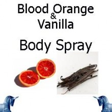 Blood Orange & Vanilla Body Spray