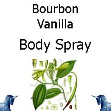 Bourbon Vanilla Body spray