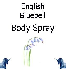 english bluebell Body spray