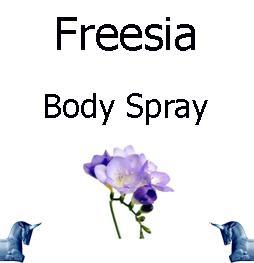 Freesia Body Spray