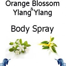 orange blossom & ylang ylang-botanical-body-spray