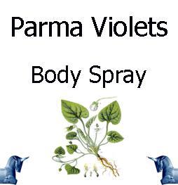 Parma Violets Body Spray