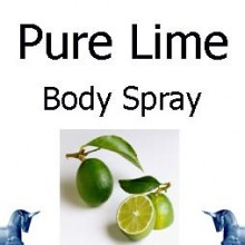 Pure Lime body Spray