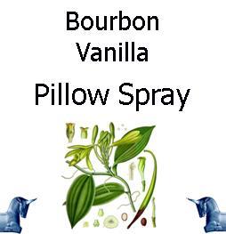 Bourbon Vanilla products pillow spray