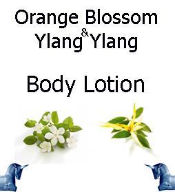 Orange Blossom and ylang ylang Body lotion