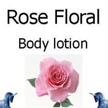Rose Floral Body Lotion