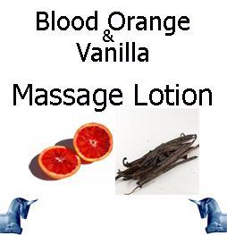 Blood Orange & Vanilla Massage Lotion