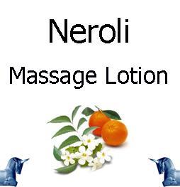 Neroli Massage lotion