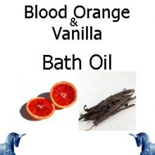 Blood Orange & Vanilla Bath Oil