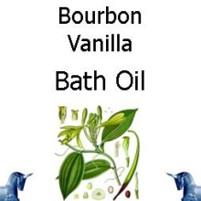 Bourbon Vanilla Bath Oil