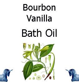 Bourbon Vanilla Bath Oil