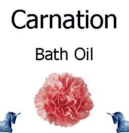Carnation Bath Oil