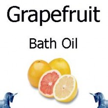Grapefruit bath Oil