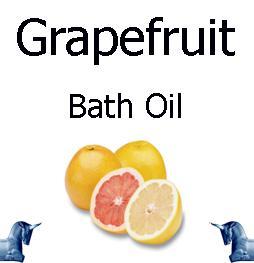 Grapefruit bath Oil