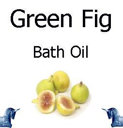 Green Fig bath Oil