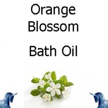 Orange Blossom bath Oil
