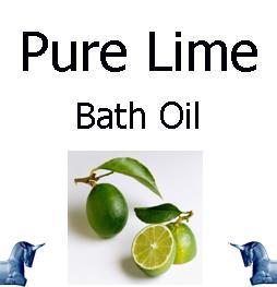 Pure Lime Bath Oil