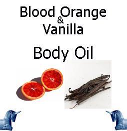 Blood Orange & Vanilla Body Oil