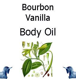 Bourbon Vanilla Body Oil