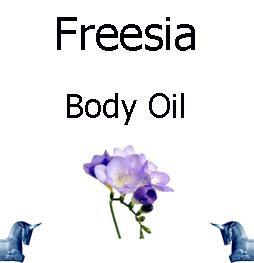 Freesia Body Oil