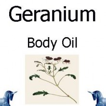 Geranium Body Oil