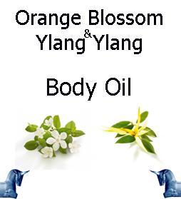 Orange Blossom and ylang ylang Body Oil
