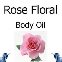 Rose Floral Body Oil