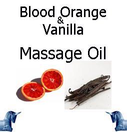 Blood Orange & Vanilla Massage Oil