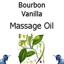 Bourbon Vanilla Massage Oil