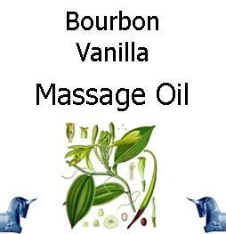 Bourbon Vanilla Massage Oil