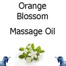 Orange Blossom Massage Oil