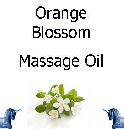 Orange Blossom Massage Oil