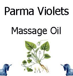 Parma Violets Massage Oil