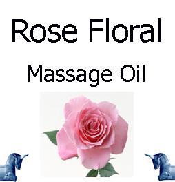 Rose Floral Massage Oil