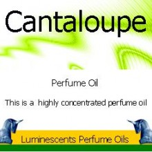 cantaloupe perfume oil label