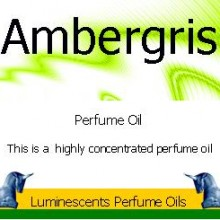 Ambergris perfume oil