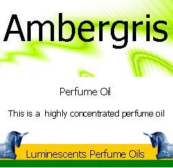 Ambergris perfume oil