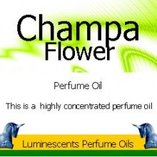 champa flower perfume oil