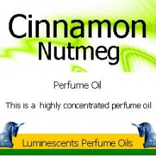 cinnamon and nutmeg perfume oil