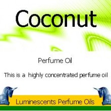 coconut-perfume-oil label