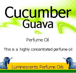 Cucumber and guava perfume oil