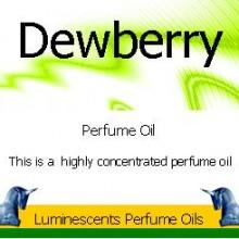 Dewberry Perfume Oil Label