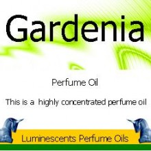 gardenia perfume oil label