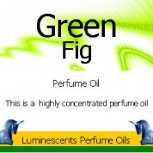 Green Fig Perfume Oil Label