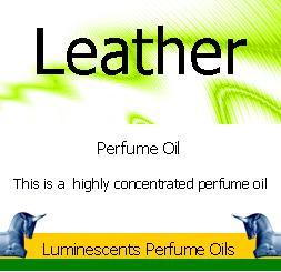 leather perfume oil