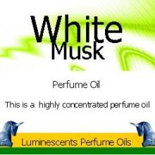 white musk perfume oil label