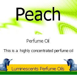 peach perfume oil