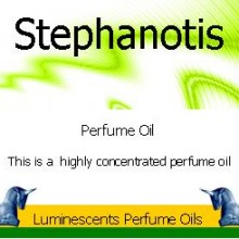 stephanotis perfume oil label